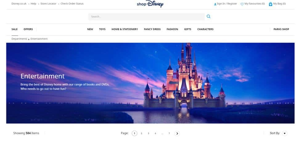 Disney Video is intended for cartoon fans with a preference for classic animation.
