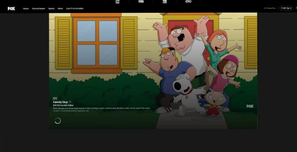 "Family Guy fox channel it""s also perfect for watching TV shows of all kinds"