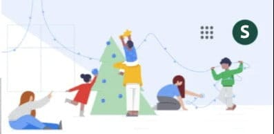 Google Doodles and Easter Eggs redesign their Doodle homepage to wish you happy holidays for the coming days