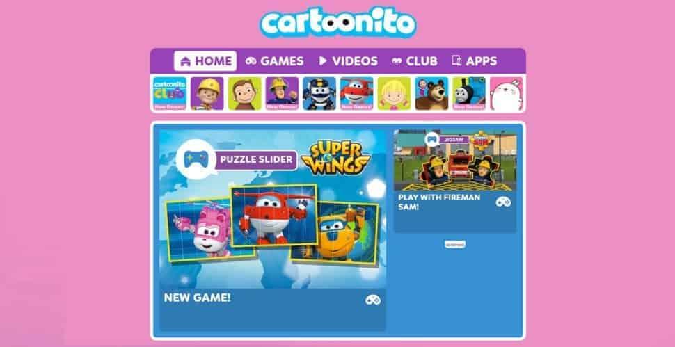 Cartoonito-educational-cartoon-shows The best website for children to choose any cartoon educational program