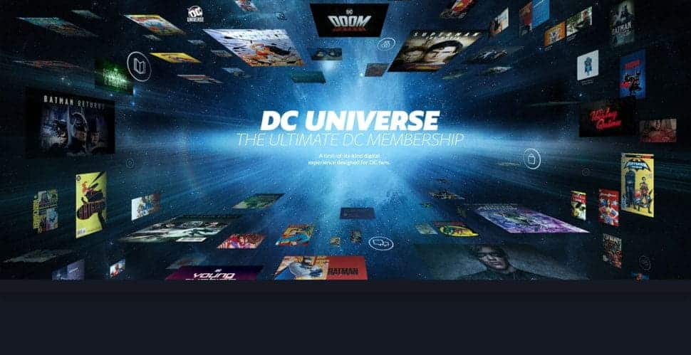 DC Universe watch your favorite movies and cartoons without advertising