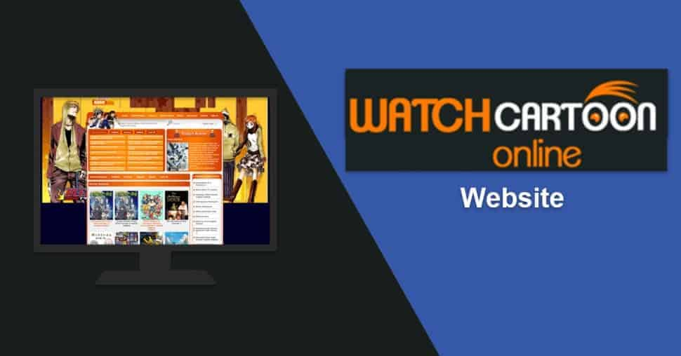 WatchCartoonOnline Website image listing all the anime shows per category.