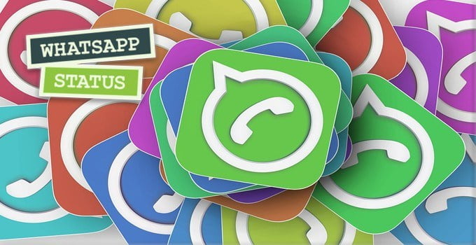 how to create a status and some interesting phrases for your WhatsApp status.