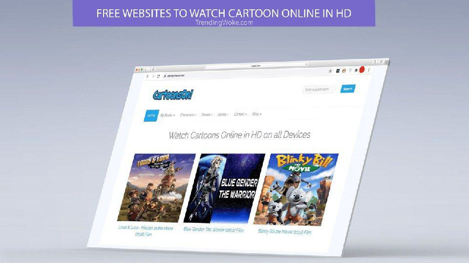 To watch cartoons online, you can turn to Cartoons On.